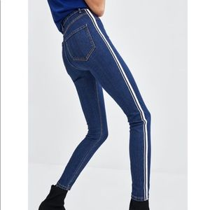 ZARA High Waist Jeggings